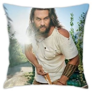 pillowcase square for sofa car  with Jason momoa